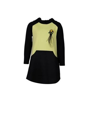 Lia Lea Kız Çocuk Yeşil Elbise 20Fwll01750 Yeşil